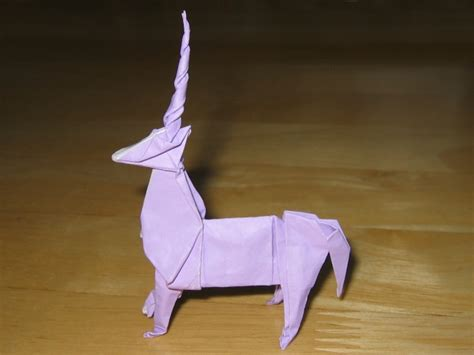 Easy Origami Unicorn - unicorn montroll happy folding