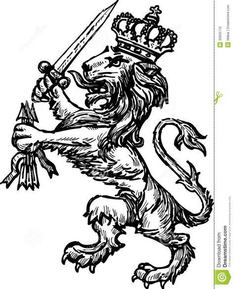 Galerry medieval lion symbol