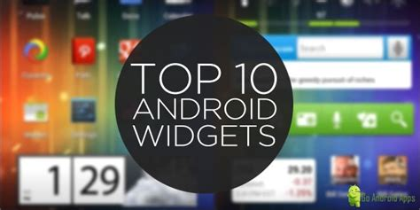 widgets android top 10 free best android widgets of 2015