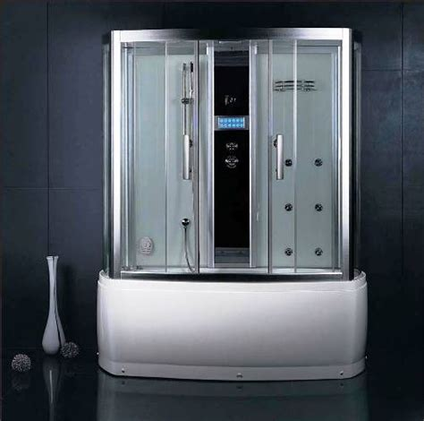 steam shower bathtub combo wasauna bergamo steam shower room tub combination unit