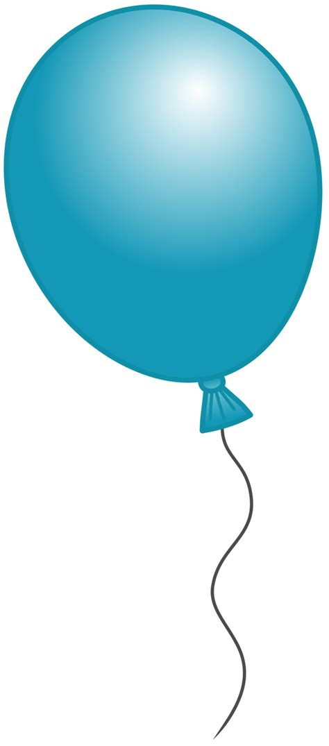 free birthday balloon clip free clipart images 8