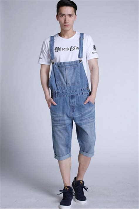 Denim Overalls The Next Big Trend by European Personality Vintage Suspender Pant Fashion