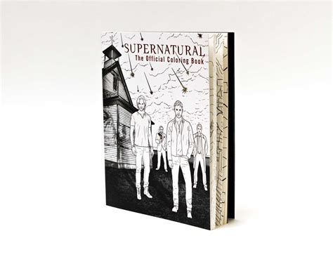 Pdf Supernatural Official Coloring Insight Editions by Supernatural The Official Coloring Book Book By Insight