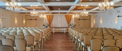 Wedding Aisle Ballroom by Home Mansion At Mountain Lakes