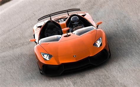 Lamborghini Aventador In Orange Orange Lamborghini Aventador J Concept By Glorin26 On