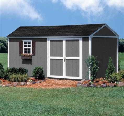 10 X 16 Storage Shed by 10 X 16 Storage Shed Modern Garage And Shed Other Metro By Backyard Buildings