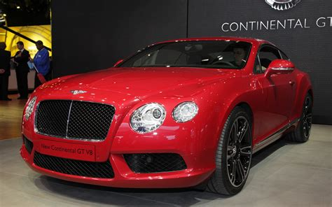 bentley coupe red 2013 bentley continental gt v 8 first drive 2012 detroit
