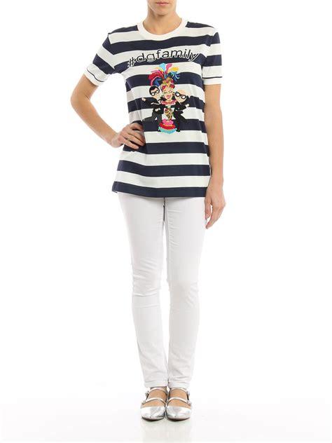 T Shirt Dg t shirt dg family con stilisti dolce gabbana t shirt