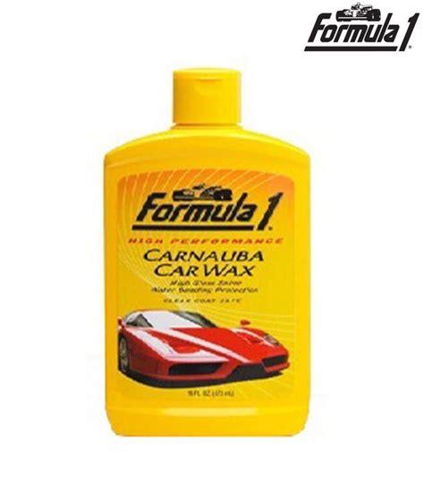 Carnauba Wash And Wax 473 Ml Formula 1 formula1 carnauba liquid wax 473ml buy formula1