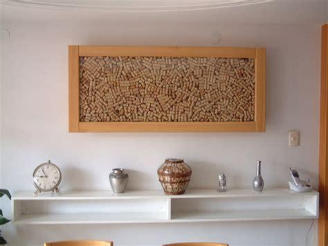 Cuadro Con Corchos De Vino   cuadro decorado con corchos