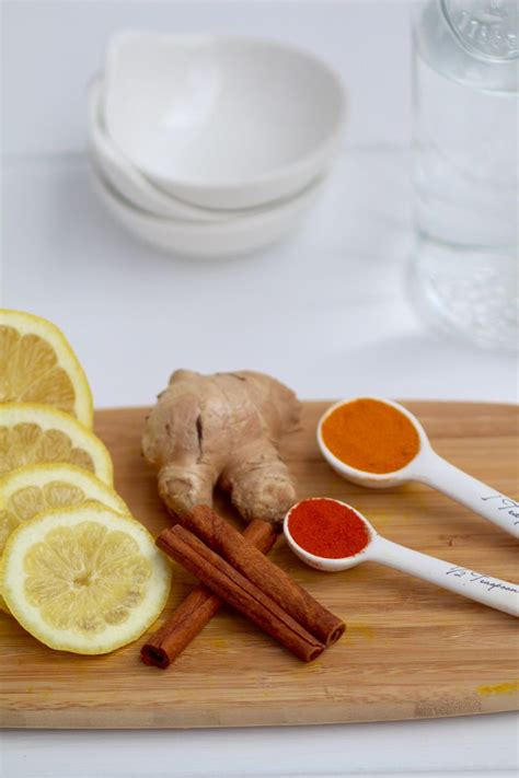 Cinnamon Sticks Detox by Daily Detox Lemon Turmeric Tea Recipe