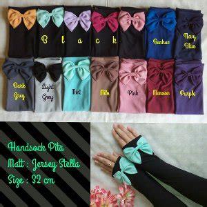 New Handsock Jempol Handsock Pita Manset Pita Manset Jempol Pita sarung tangan wanita terbaru murah di palangkaraya