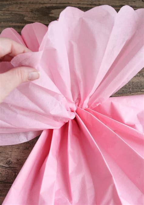 Tissue Paper Pom Pom - tissue paper pom pom tutorial somewhat simple