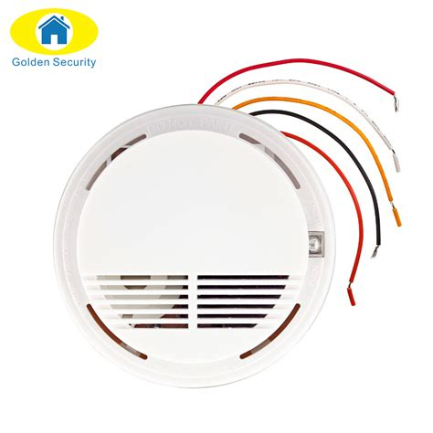 Alarm Golden Six golden security wired alarm security smoke detector