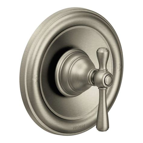 Moen Shower Knob by Shop Moen Nickel Tub Shower Handle At Lowes
