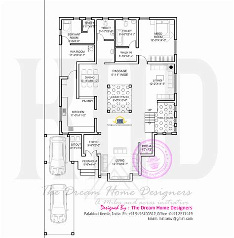 modern house with floor plan kerala home design and