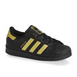 Adidas Superstar Shoes Black Adidas Adidas Originals Superstar C Shoes Black Gold