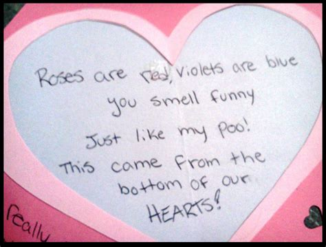 silly valentines poems roses are violets are blue poems for valentines day