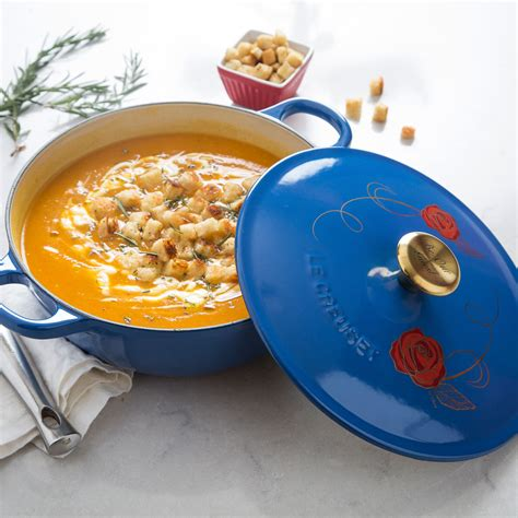 enchanting new le creuset beauty and the beast soup pot new le creuset beauty and the beast soup pot the disney