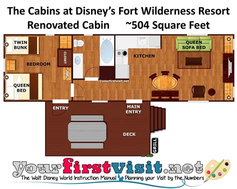 Small Cabin Designs by Review The Cabins At Disney S Fort Wilderness Resort