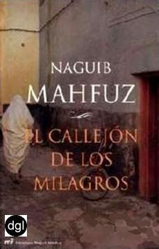 el callejn de los descarga de libros gratis el callejon de los milagros naguib mahfuz