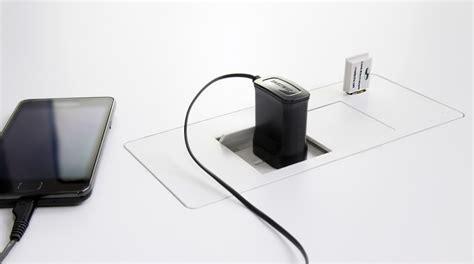 flip in desk box 2 gpo 2 usb office accessories