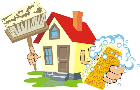 House cleaning services clip art clean house clip art