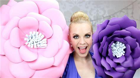 imagenes de flores grandes de foami diy c 211 mo hacer flores de foami o goma eva youtube