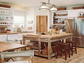 Rustic kitchen island plans awesome kitchens kitchen island ideas