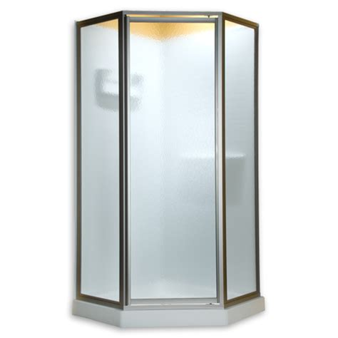 24 Glass Shower Door American Standard Qf16 422 Glass Neo Angle Framed Pivot Shower Doors Fits 24 Inch