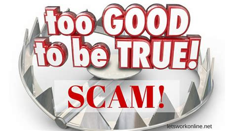 Online Work From Home Scams - about work from home scams