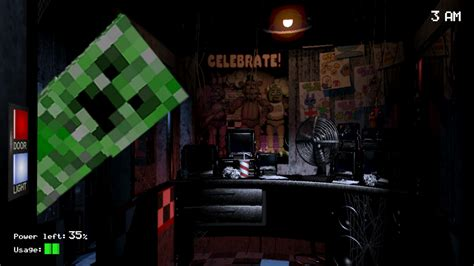 minecraft freddys nights at five five night s at freddy s meme minecraft by bombertim on