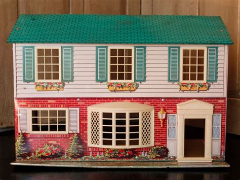 metal doll houses 44 best images about vintage metal dollhouses on pinterest see best ideas about tins