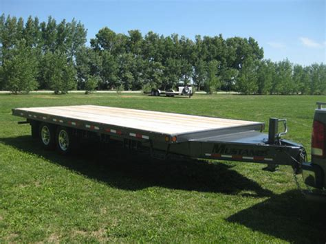 mustang trailers flatdeck trailer 18 171 171 mustang trailers mustang trailers