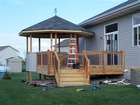 gazebo deck deck with gazebo deck design and ideas