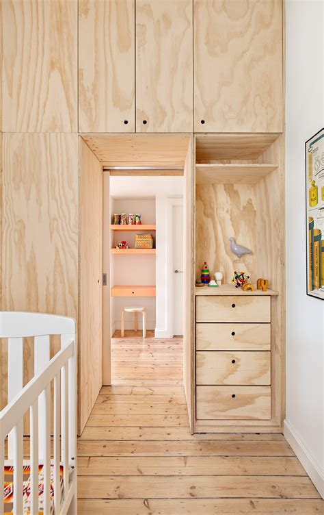 plywood interior design small inner city apartment uses plywood to enhance