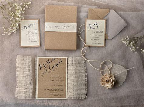 rustic chic wedding invitation ideas weddingplusplus com