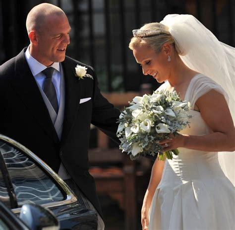 Hochzeit Royal by Gro 223 Britannien Royale Hochzeit Ii Zara Phillips Und