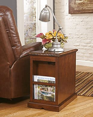 laflorn chairside end table laflorn chairside end table furniture homestore