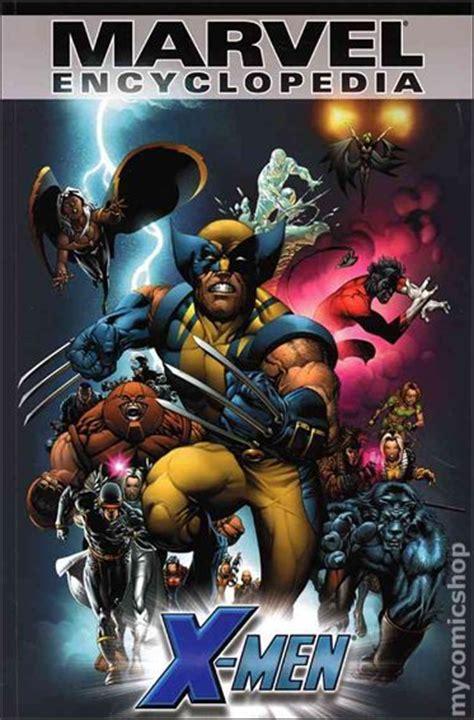 marvel encyclopedia tpb 2006 scholastic comic books