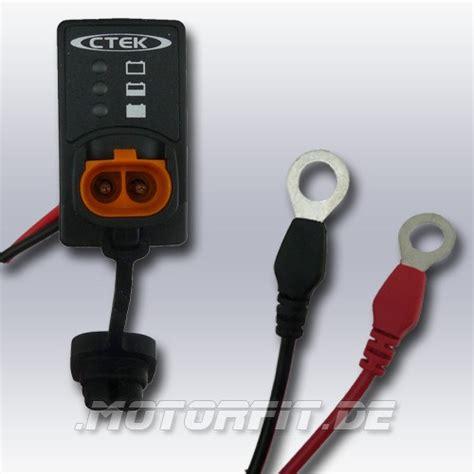 lade led a batteria ctek ladezustandsanzeige einbau led indikator mit ring 246 sen
