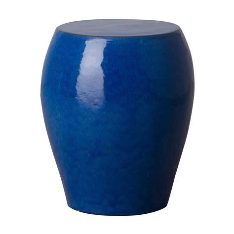 blue seiji garden stool seven colonial