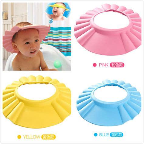 baby shower cap shoo visor bath visor soft toddler baby bath hat shower shoo visor hats wash hair shield cap ebay