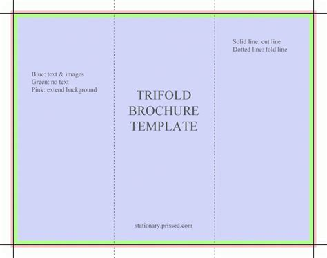 tri fold card template microsoft free tri fold obituary program template free