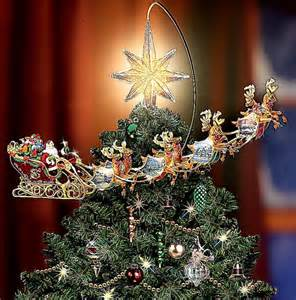 lit christmas tree topper wallpapers background