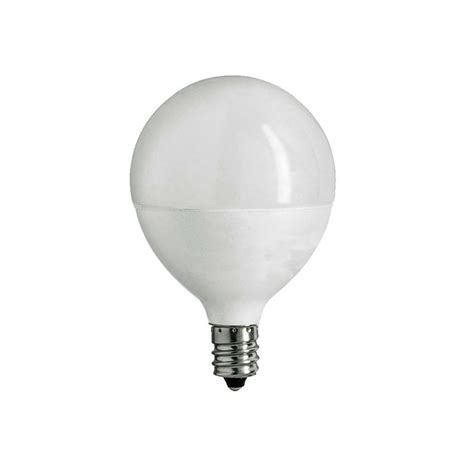 Led E12 Light Bulb Ecosmart 60w Equivalent Soft White G16 5 E12 Dimmable Frosted Led Light Bulb 12 Pack Ecs G16 5