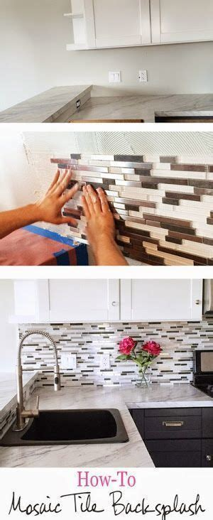 8 diy tile kitchen backsplashes that are worth installing shelterness 710 best images about tricks and hacks home improvement