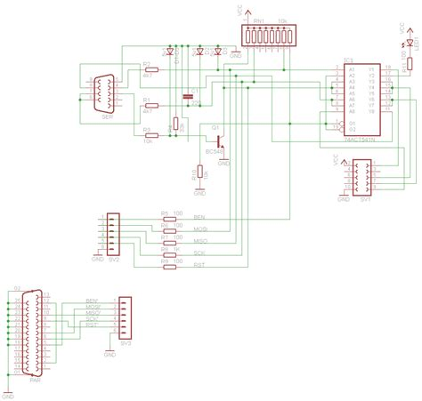 serial port pic programmer circuit diagram serial port programmer for at89s52 at89s51 and avr