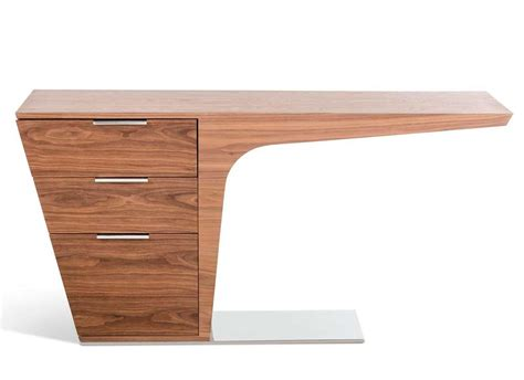 image modern walnut desk