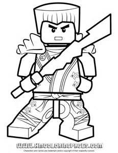 ninjago zane kx holding elemental weapon coloring drawings printables kids